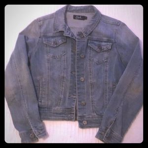 Earl, XS, jean jacket! Perfect condition! No flaws